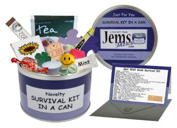 Get Well Soon Survival Kit In A Can